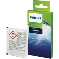 SAECO/PHILIPS CLEANING POWDER / MILK CIRCUIT CLEANER 6 BAGS OF 2